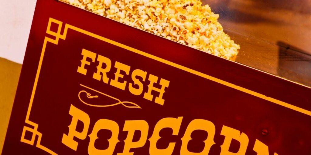 old fashioned popcorn machines