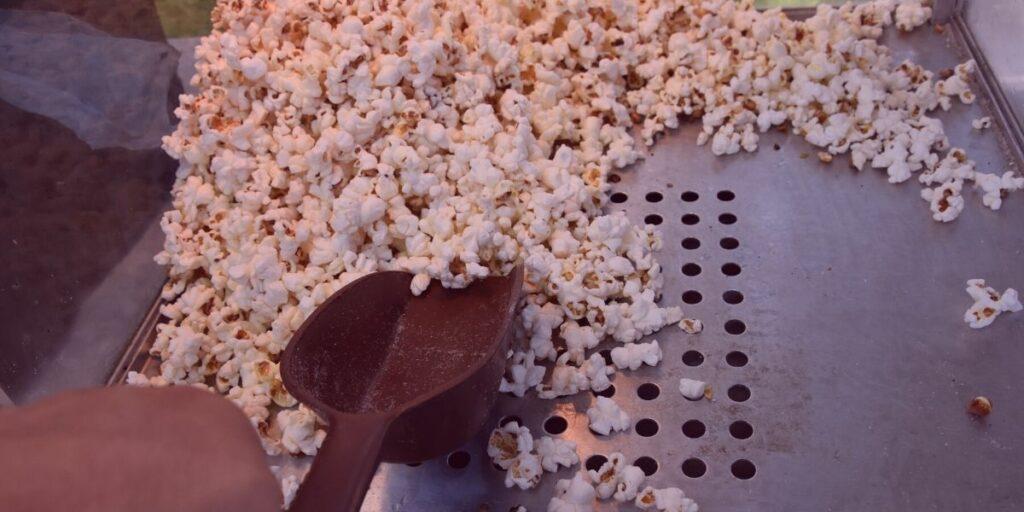 old maid drawer popcorn machine