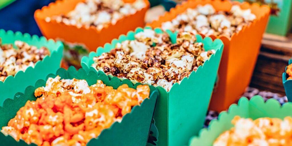 popcorn machine wedding
