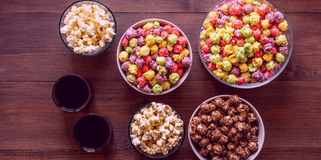 chocolate flavored popcorn