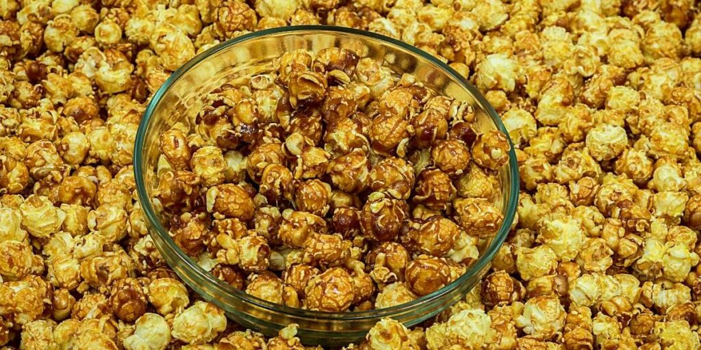 lots of mushroom popcorn