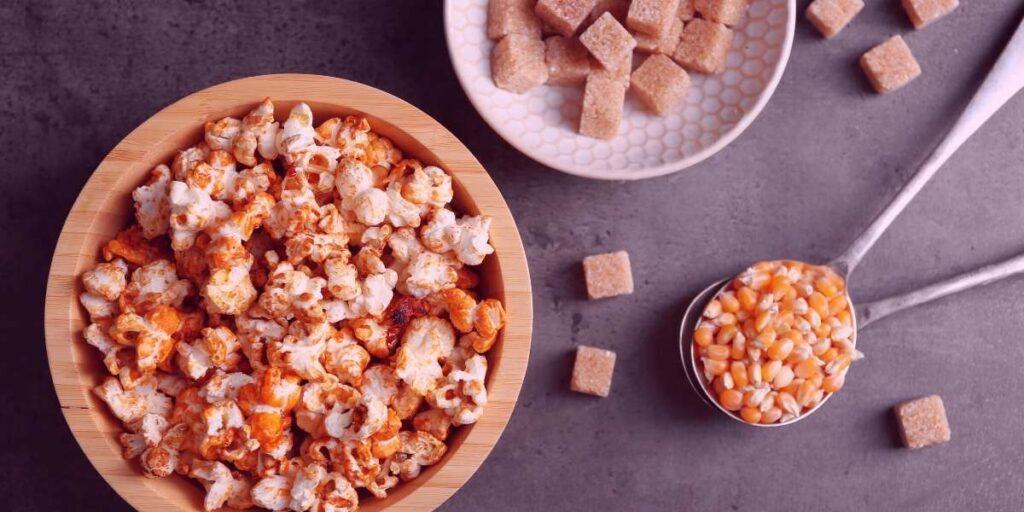 popcorn flavored